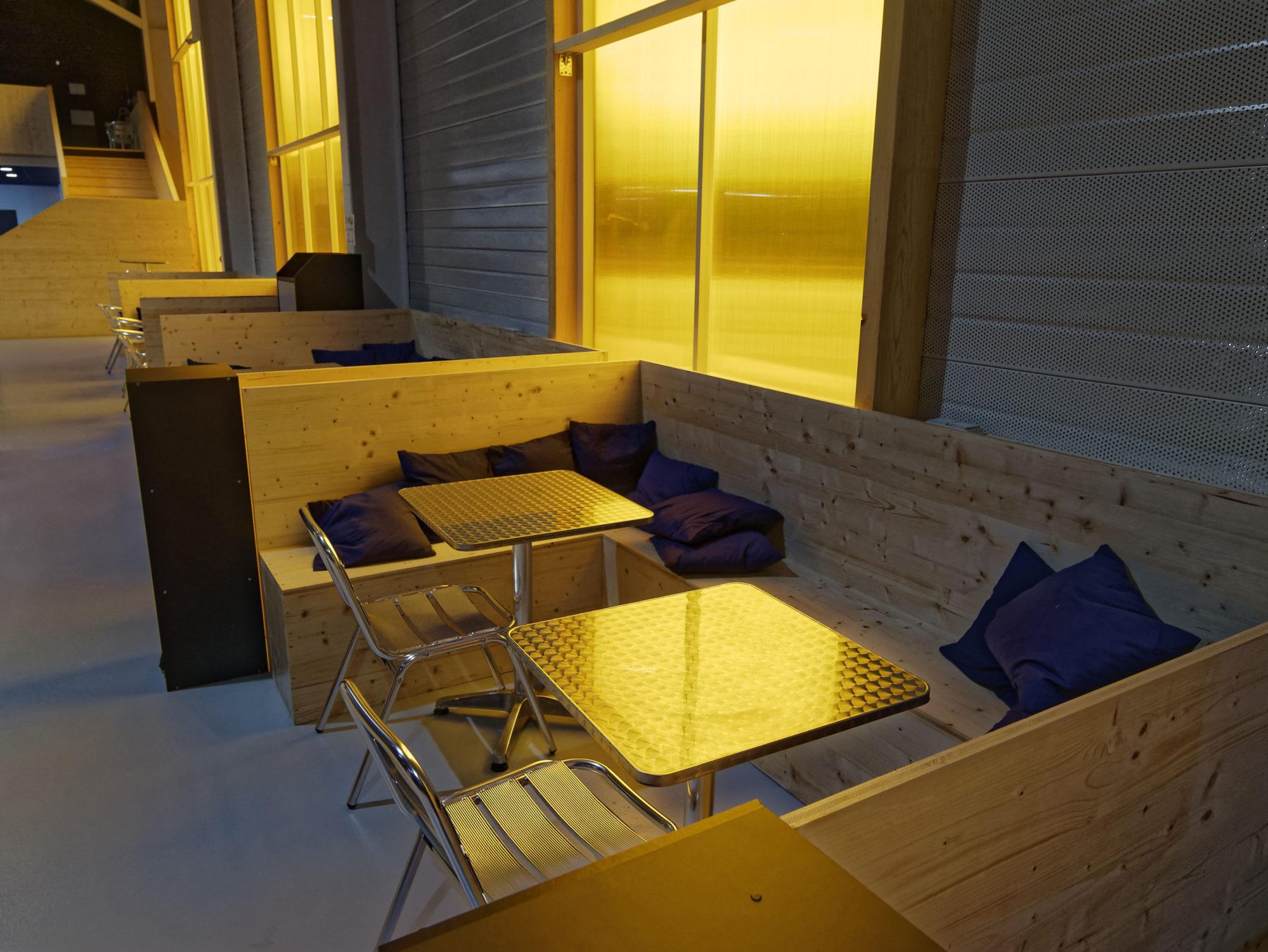 espace café, canapé