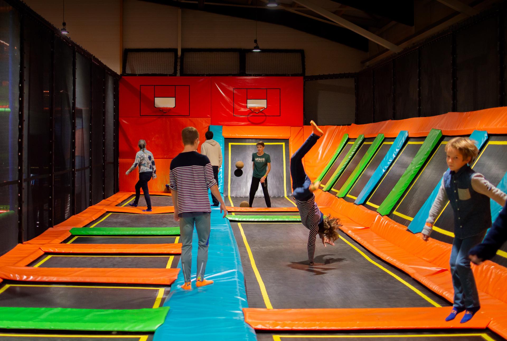 trampolines et figures