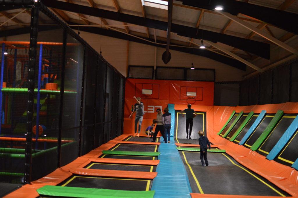 trampolines espace Kascade