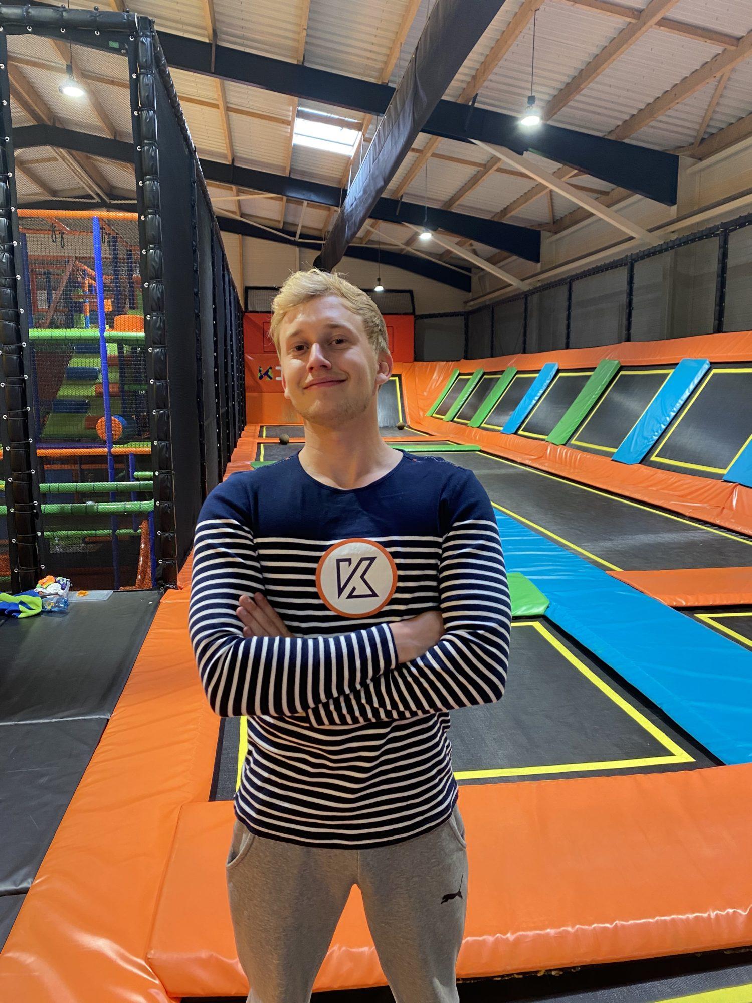 espace kascade trampoline